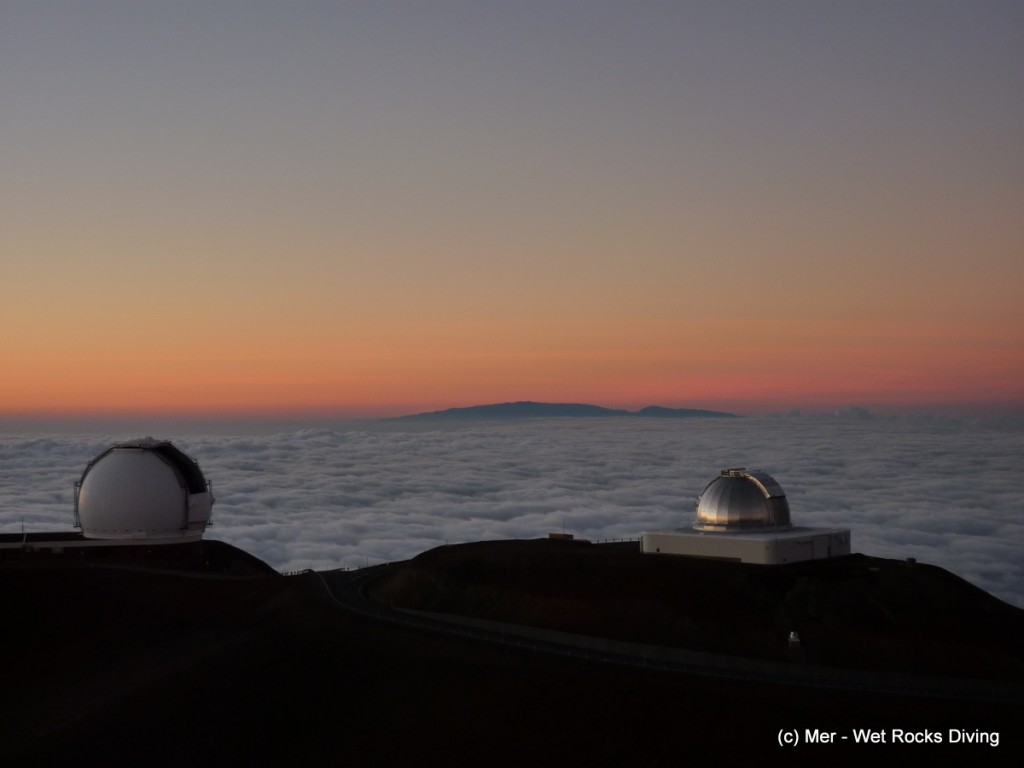 Maui as seen from Mauna Kea