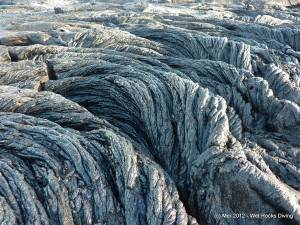 "Pahoehoe lava ""ropes"""