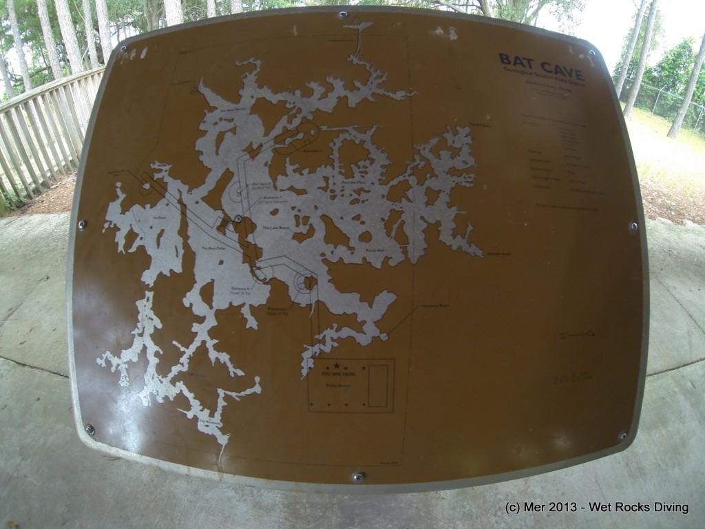 Bat Cave map